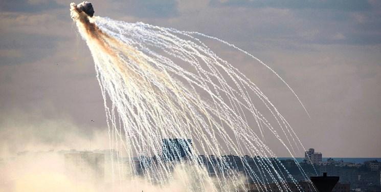استفاده آمریکا از بمب فسفری در سوریه