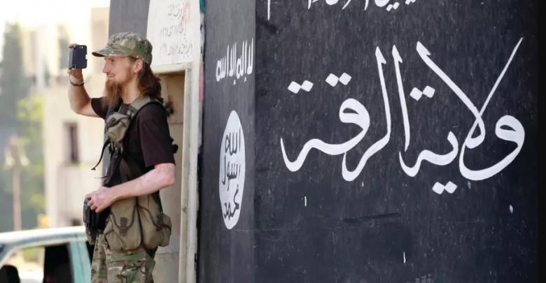 تروریست های تونسی در رقه
