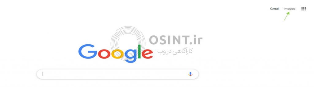تصویر 2- ورود به صفحه گوگل
