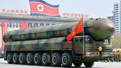 رژه موشک های کره شمالی
