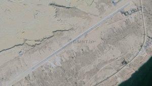 تصاویر ماهواره ای پایگاه پهپادی ایران در جزیره قشم