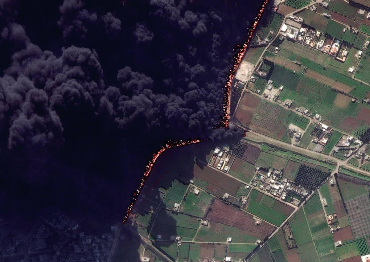 انفجار خط لوله حمص