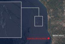 آلودگی نفتی در سواحل سوریه