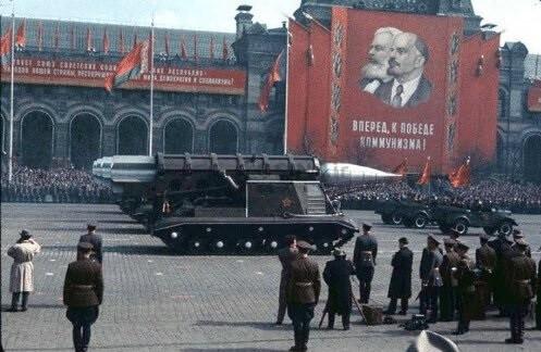 تصویر رژه نظامی شوروی