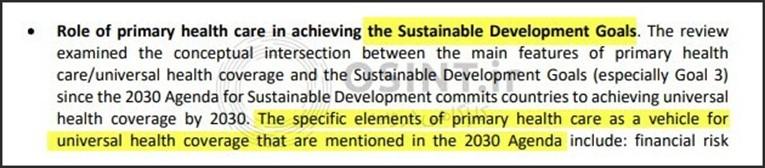 ارتباط PHC و سند 2030