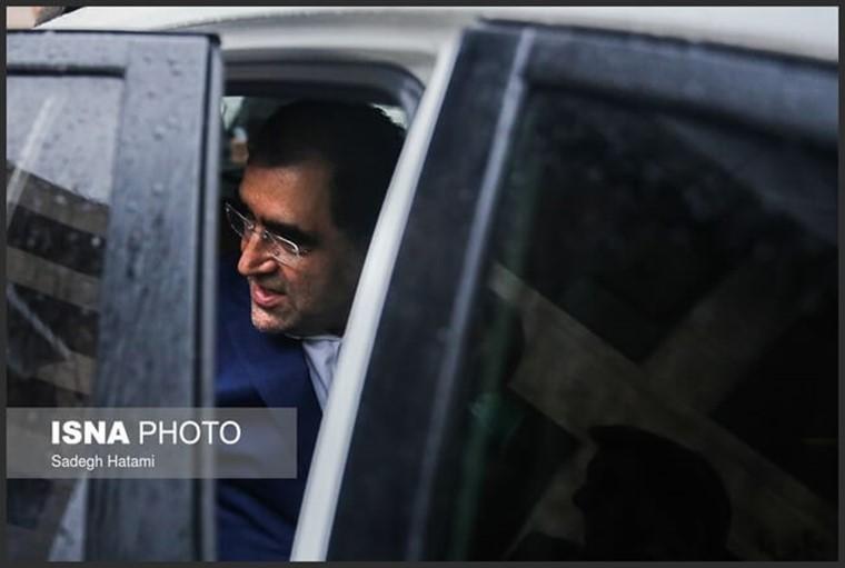 قاضی زاده هاشمی وزیر بهداشت ایران