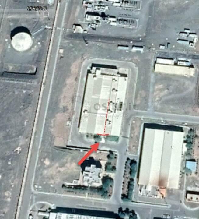 تصویر گوگل ارث از نطنز